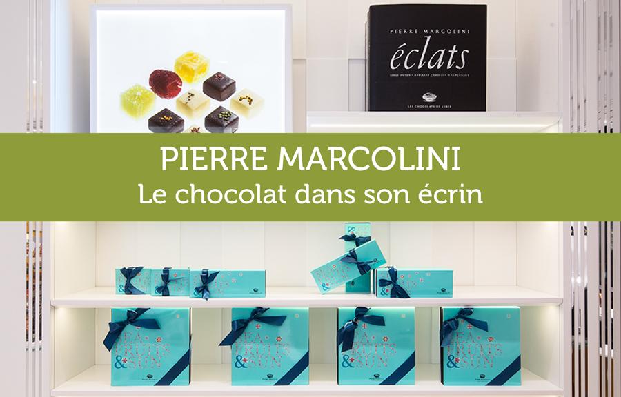 Agencement et mobilier sur-mesure pour boutique de chocolat Marcolini