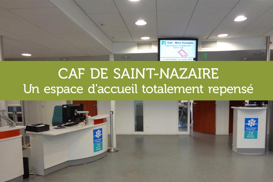 Accueil sur-mesure pour la CAF de Saint-Nazaire