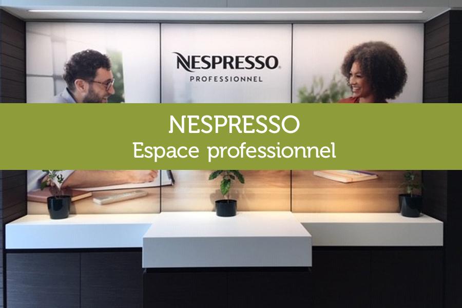 Meuble espace professionnel NESPRESSO Nantes