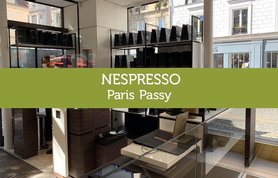 Boutique Nespresso paris Passy
